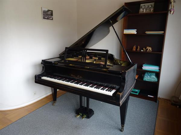 Grote foto vleugelpiano gustav fiedler goed onderhouden muziek en instrumenten piano en vleugels