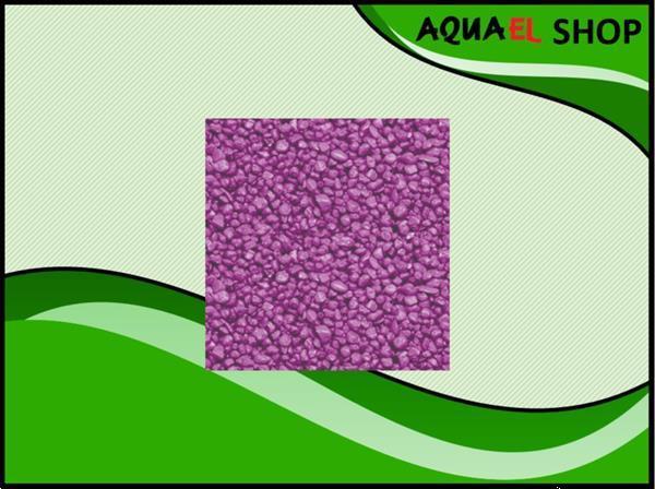 Grote foto color gravel fushia aquarium grind fuchsia 1kg dieren en toebehoren vissenkommen
