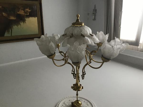 Grote foto antieke luster antiek en kunst lampen