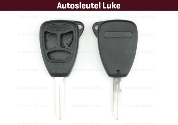 Grote foto chrysler 3 knop sleutel behuizing kpb555 auto onderdelen overige auto onderdelen