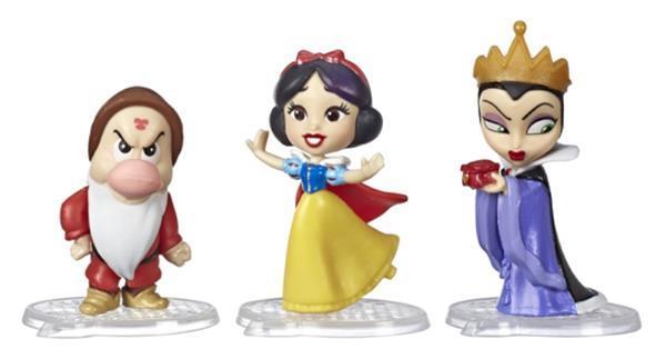 Grote foto verzamelfiguren disney princess sneeuwitje 9 cm geel kinderen en baby speelgoed voor jongens