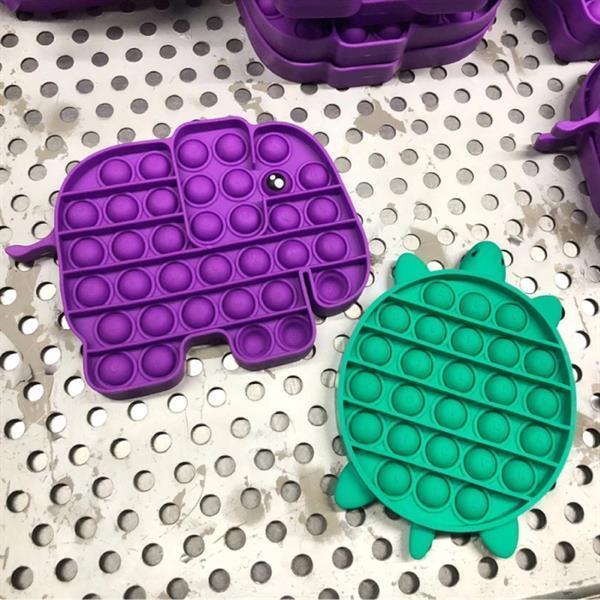 Grote foto pop it fidget anti stress speelgoed bubble toy siliconen o kinderen en baby overige