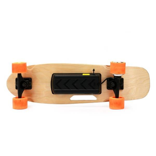 Grote foto skateboard lectrique smart e board 150w avec t l comman sport en fitness skeeleren en skaten