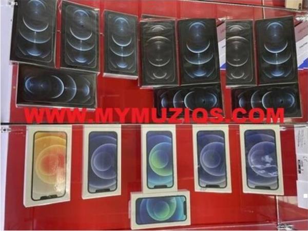 Grote foto apple iphone 12 pro max iphone 12 pro iphone 12 telecommunicatie apple iphone