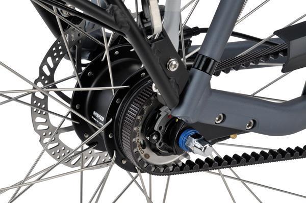 Grote foto batavus finez e go exclusive herenfiets jeansblauw 8v bel fietsen en brommers kinderfietsen