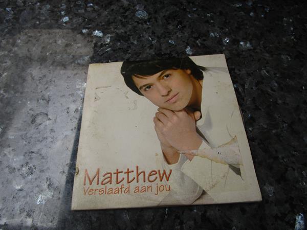 Grote foto matthew verslaafd aan jou cd en dvd nederlandstalig