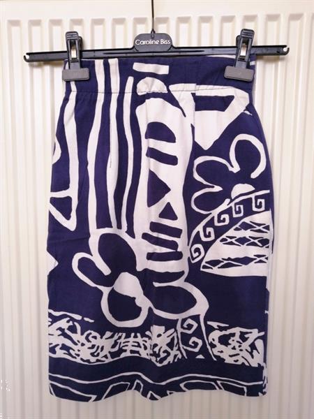 Grote foto prachtig vintage rokje met print van ouiset 38 kleding dames rokken