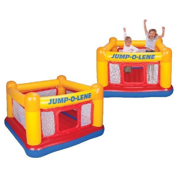 Grote foto intex 48260np jump o lene springkussen kinderen en baby trampolines en springkussens