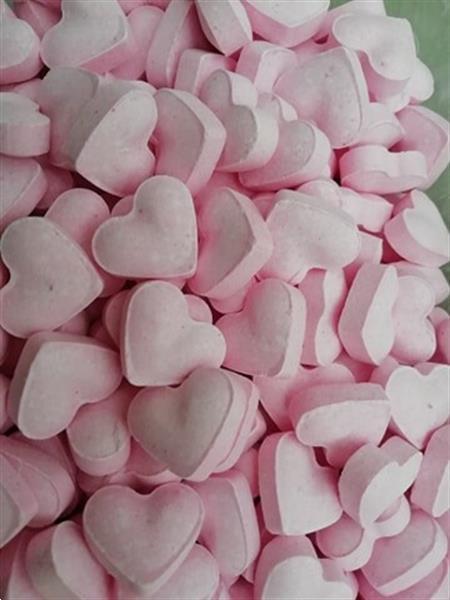 Grote foto laatste stuks snoepzakken dextrose hartjes diversen levensmiddelen
