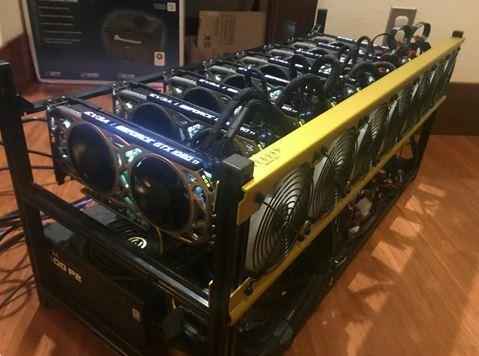 Grote foto miner gpu server computers en software laptops en notebooks