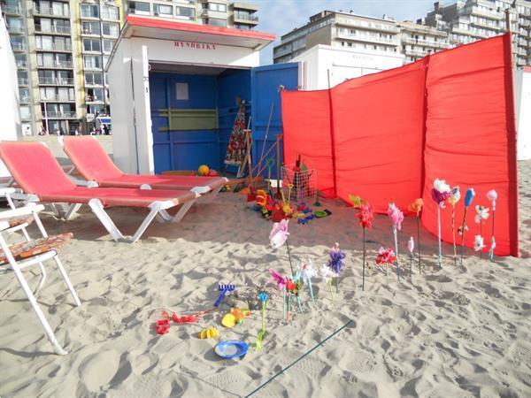 Grote foto ruim comfortabel appartement zee met strandkabine vakantie belgi