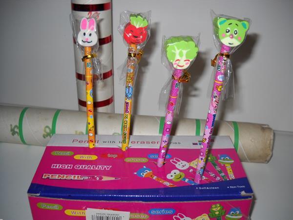 Grote foto displays 5 stuks a 24 potloden met gum zakelijke goederen overige zakelijke goederen