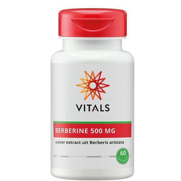 Grote foto vitals berberine 500 mg 60 caps beauty en gezondheid overige beauty en gezondheid