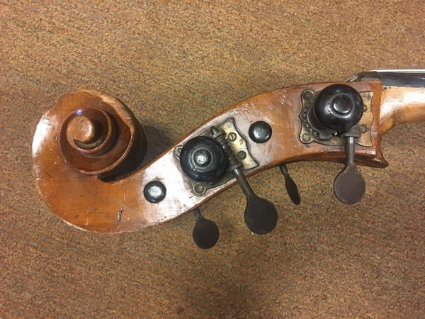 Grote foto duitse massieve 3 4 contrabas muziek en instrumenten contrabassen