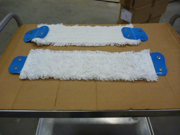 Grote foto vlakmop triko katoen 40 cm doos a 25 stuks zakelijke goederen overige zakelijke goederen