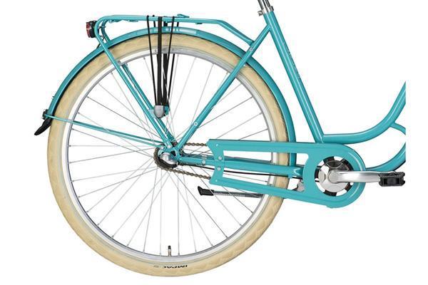Grote foto excelsior swan retro damesfiets ocean groen 7v fietsen en brommers damesfietsen