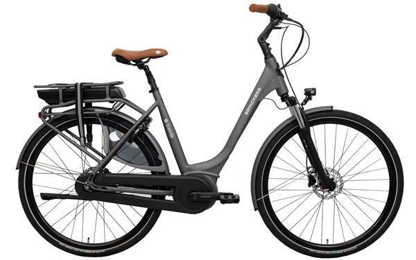 Grote foto brinckers granville m310 elektrische fiets 28 inch mat grijs fietsen en brommers herenfietsen