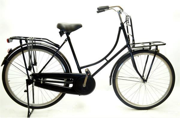 Grote foto avon omafiets 28 inch zwart 54 cm met voordrager 100 rijklaa fietsen en brommers herenfietsen