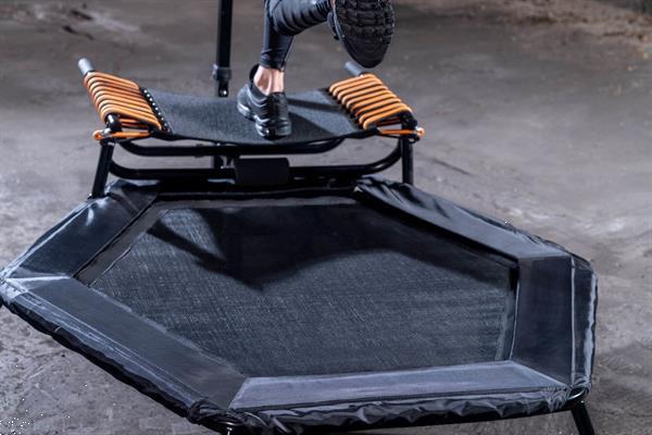 Grote foto hammer jumpstep fitnesstrampoline studio kinderen en baby trampolines en springkussens