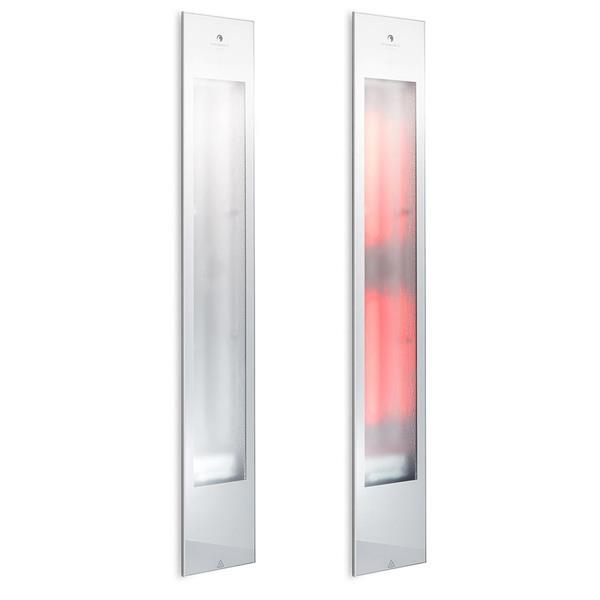 Grote foto sunshower pure xl 2.0 white inbouw infrarood beauty en gezondheid sauna