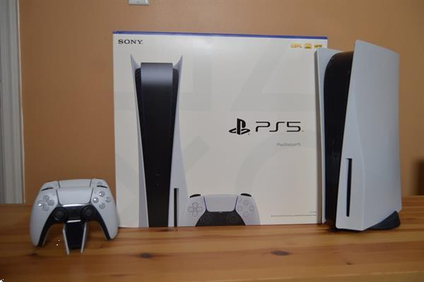 Grote foto playstation 5 consoles ps5 disc spelcomputers games playstation