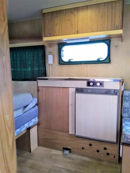 Grote foto goed onderhouden retro caravan star uit 1980 caravans en kamperen caravans