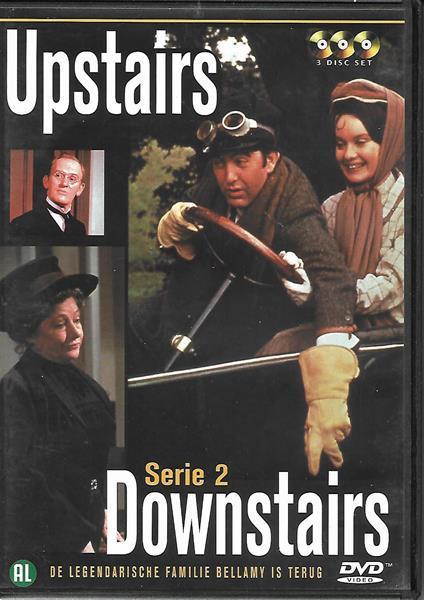 Grote foto upstairs downstairs s1 s2 cd en dvd humor en cabaret