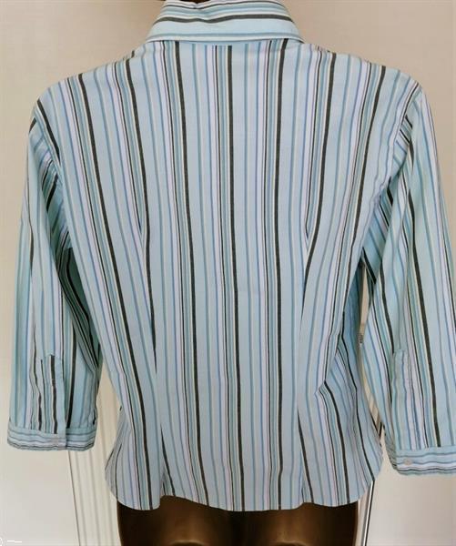 Grote foto supermooie getailleerde blouse met 3 4 mouw 38 kleding dames blouses