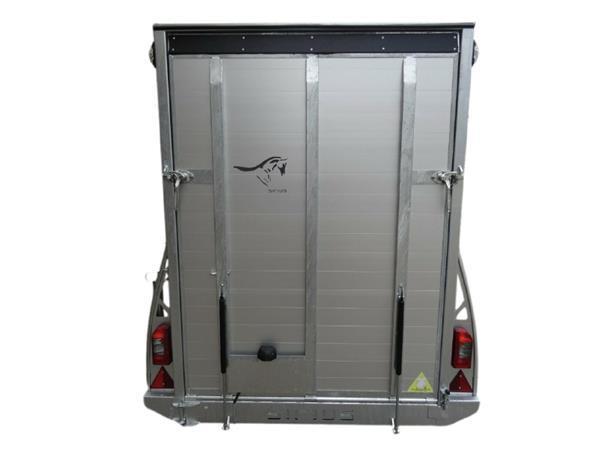 Grote foto siriusg255 aluminium255 x 141 x 190 1300 kg gesloten aanhan auto diversen aanhangers