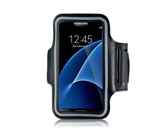 Grote foto samsung galaxy s8 s9 sport armband sportband sport en fitness overige sport en fitness