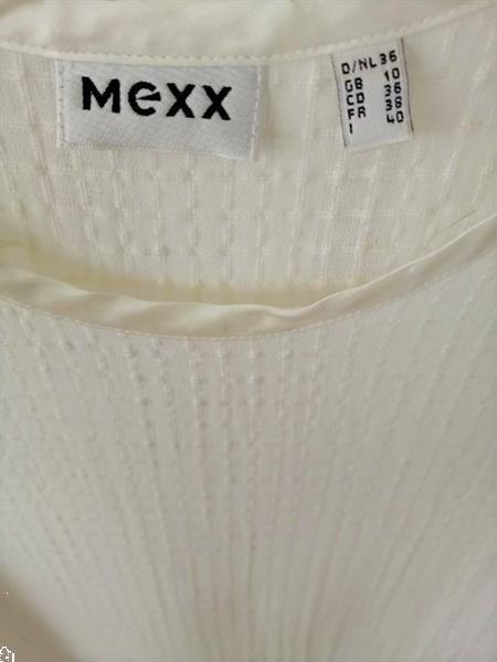 Grote foto prachtige doorzichtige tuniek van mexx 36 38 kleding dames blouses en tunieken