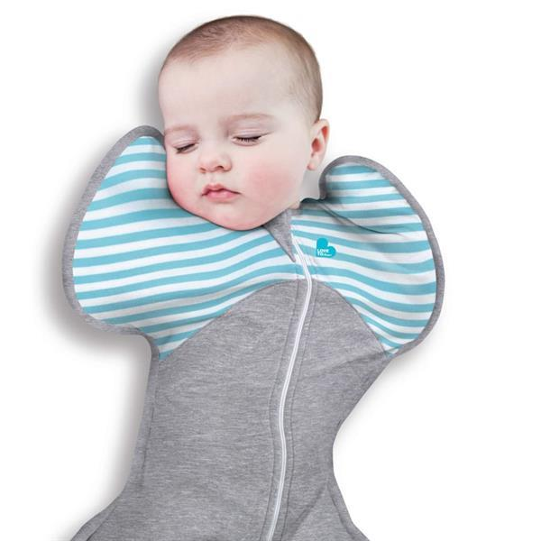 Grote foto love to dream babydoek swaddle up warm fase 1 m turquoise kinderen en baby overige