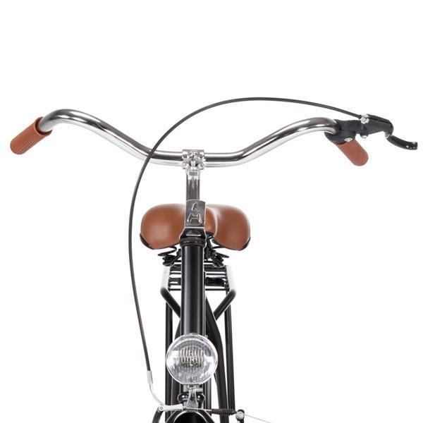 Grote foto vidaxl opafiets 28 inch 57 cm frame fietsen en brommers herenfietsen