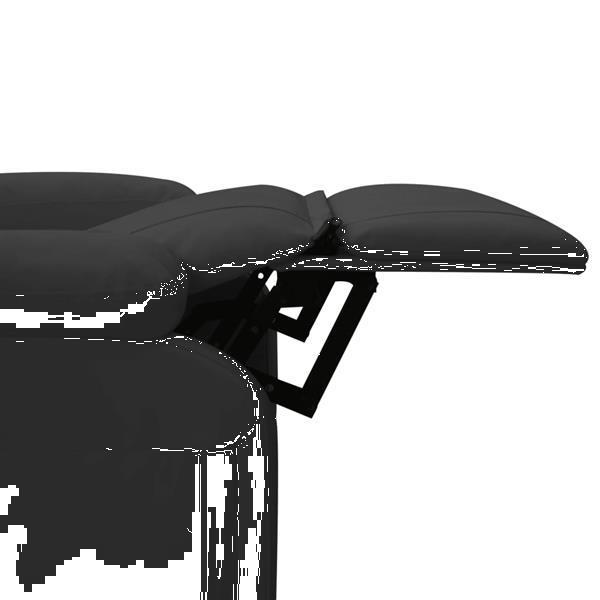 Grote foto vidaxl massagestoel verstelbaar kunstleer antraciet beauty en gezondheid massage