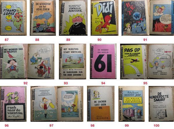 Grote foto robbedoes microverhalen boeken stripboeken