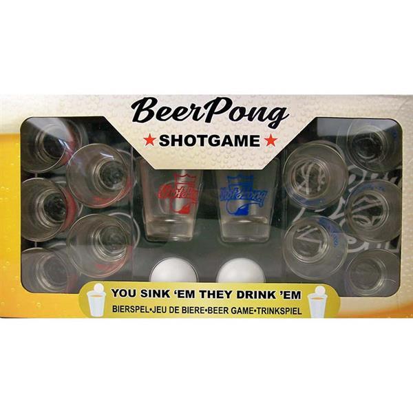 Grote foto beer pong shotgame kinderen en baby puzzels