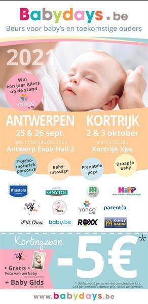 Grote foto babydays kortrijk 2 3 oktober 2021 kinderen en baby autostoeltjes
