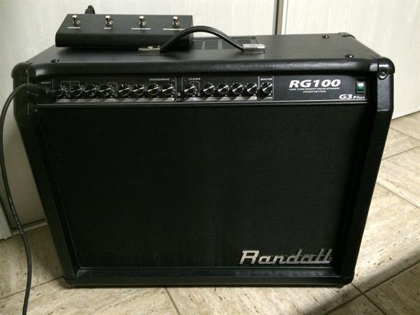 Grote foto randall versterker ideaal voor stevige rock muziek en instrumenten versterkers bas en gitaar