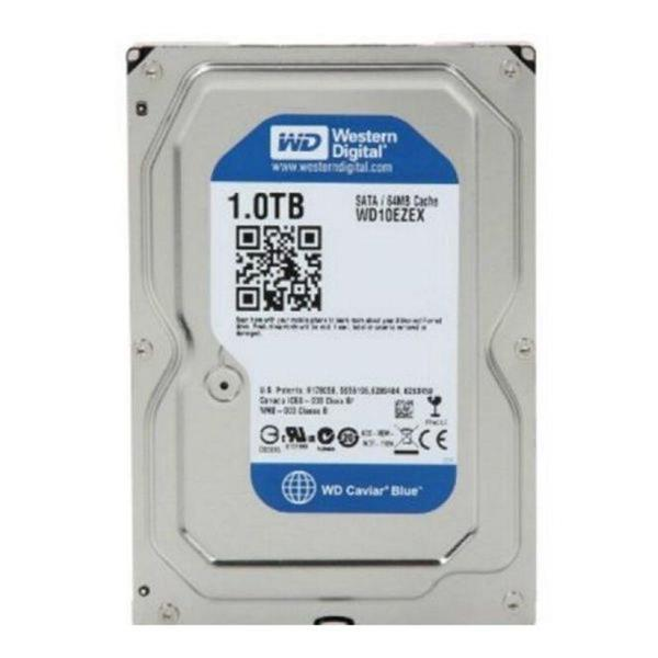 Grote foto hard drive western digital blue wd10ezex 3.5 1 tb sata iii computers en software harde schijven