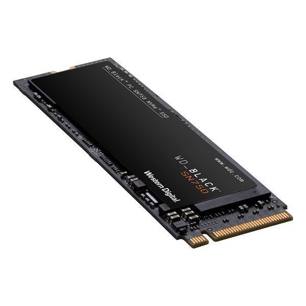 Grote foto hard drive ssd western digital black sn750 m.2 computers en software harde schijven