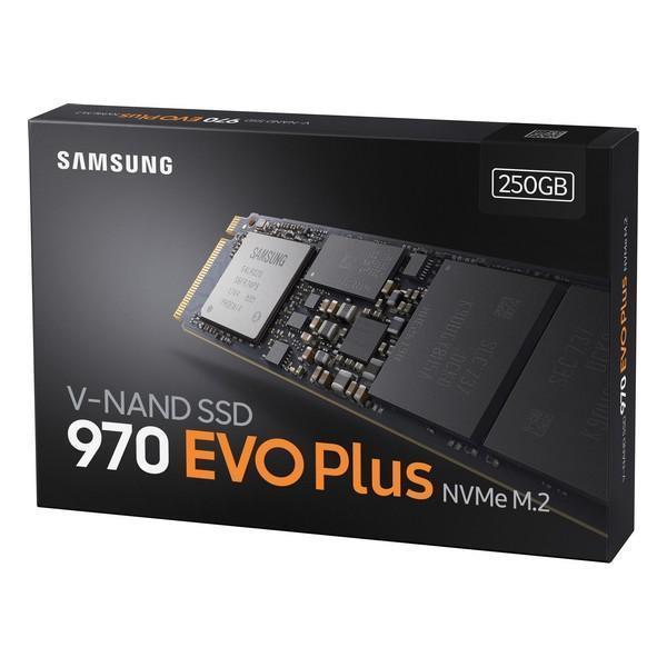 Grote foto hard drive ssd samsung 970 evo plus m.2 computers en software harde schijven