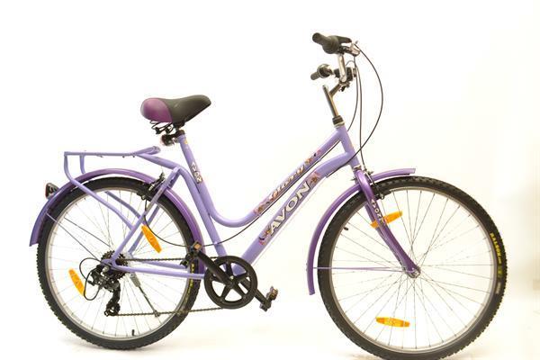 Grote foto avon glory meisjesfiets 26 inch paars 100 rijklaar fietsen en brommers herenfietsen