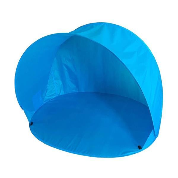 Grote foto summertime pop up beachshelter blauw tas 150x110x100 cm caravans en kamperen tenten