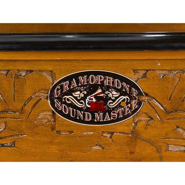 Grote foto grammofoon vierkant old style collectie by homania muziek en instrumenten dj sets en draaitafels