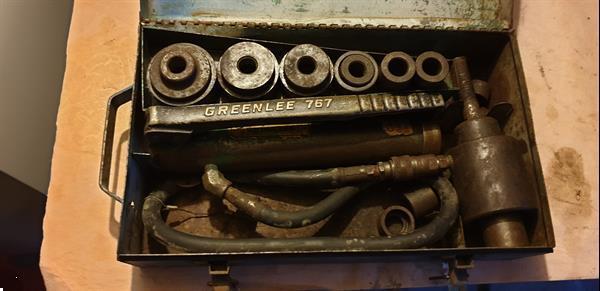 Grote foto garage uitrusting auto diversen gereedschap