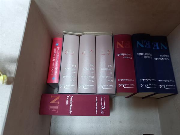 Grote foto dictionarie boeken reeks vandale boeken woordenboeken