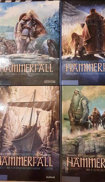 Grote foto hammerfall 1 t m 4 complete reeks boeken stripboeken