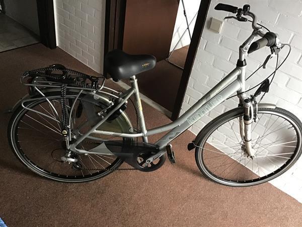 Grote foto dame fiets kettler in aluminium kader fietsen en brommers damesfietsen