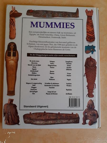 Grote foto mummies reeks ooggetuigen boeken geschiedenis wereld