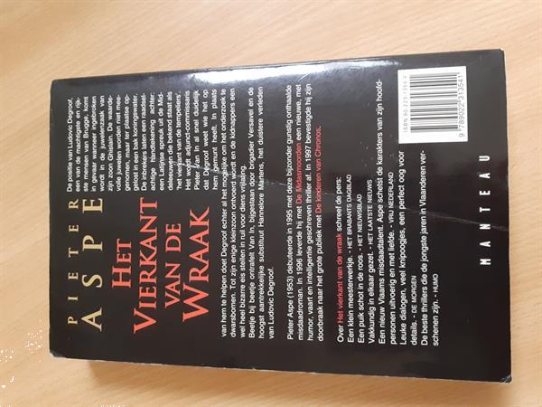 Grote foto boek pieter aspe het vierkant van de wraak boeken thrillers